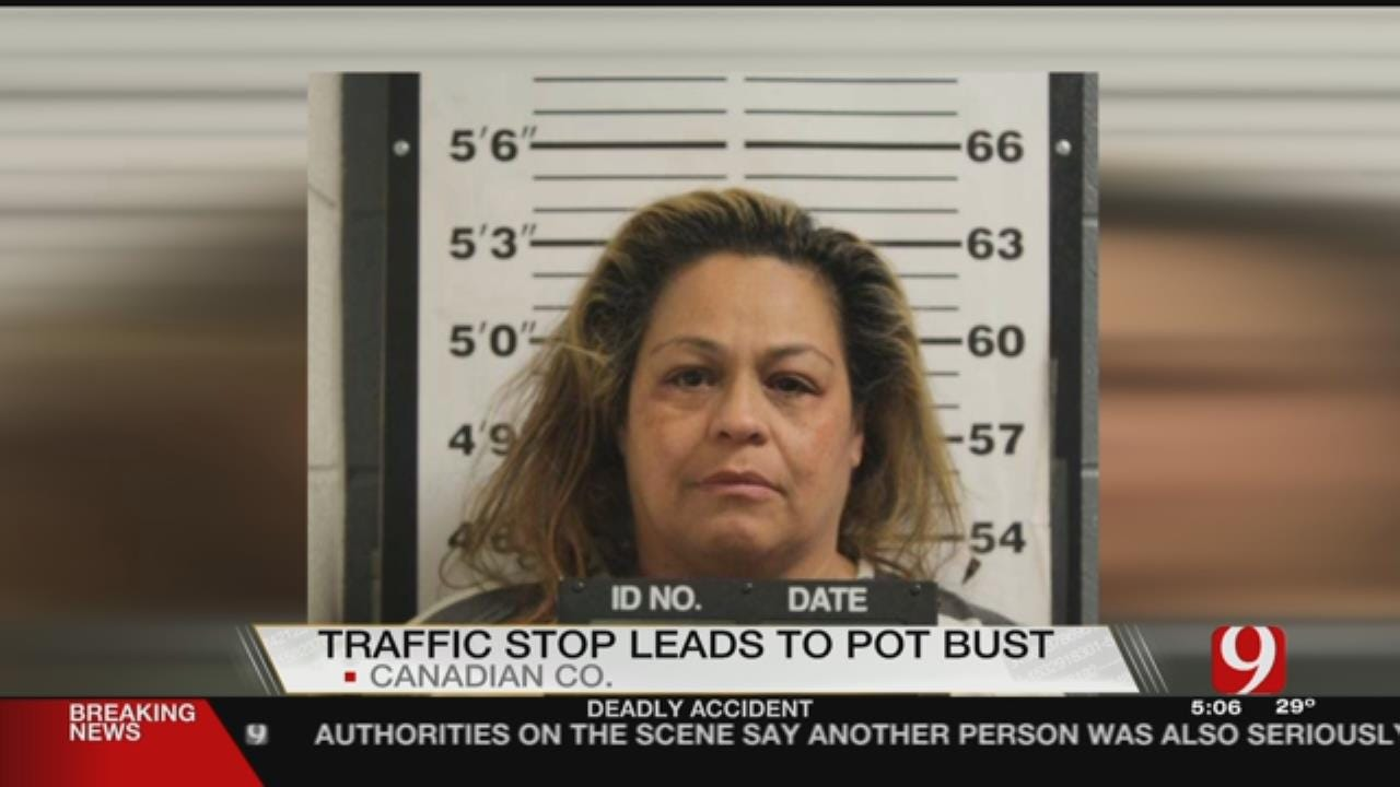 Canadian Co. Deputies Arrest Woman After Finding Nearly 75 Pounds Of Marijuana