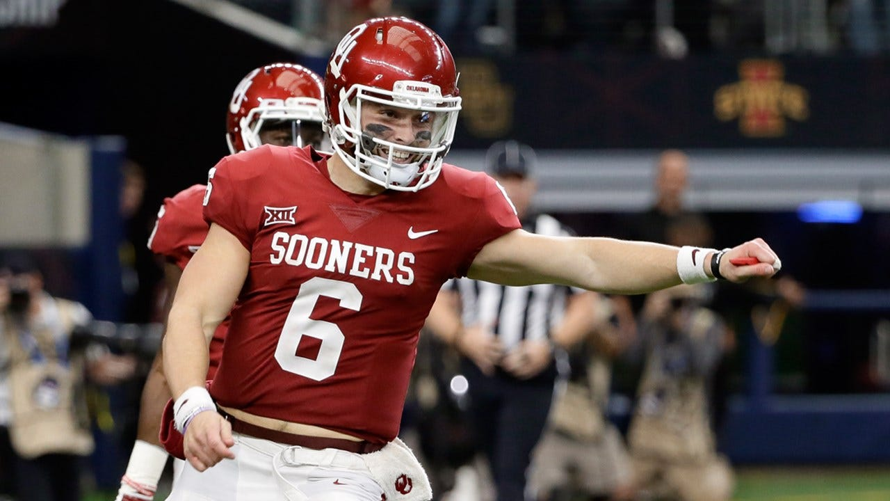 Mayfield Wins Twice At College Football Awards Ceremony