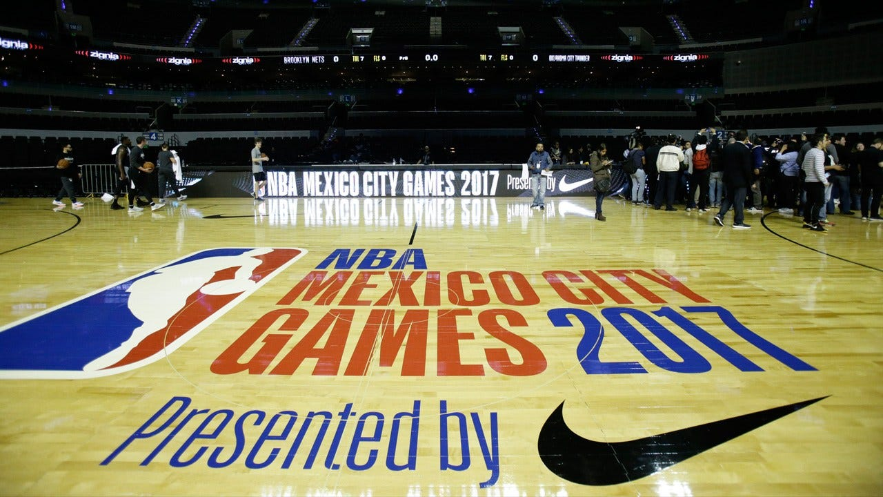 Thunder Meets Nets In Mexico City For NBA Global Games