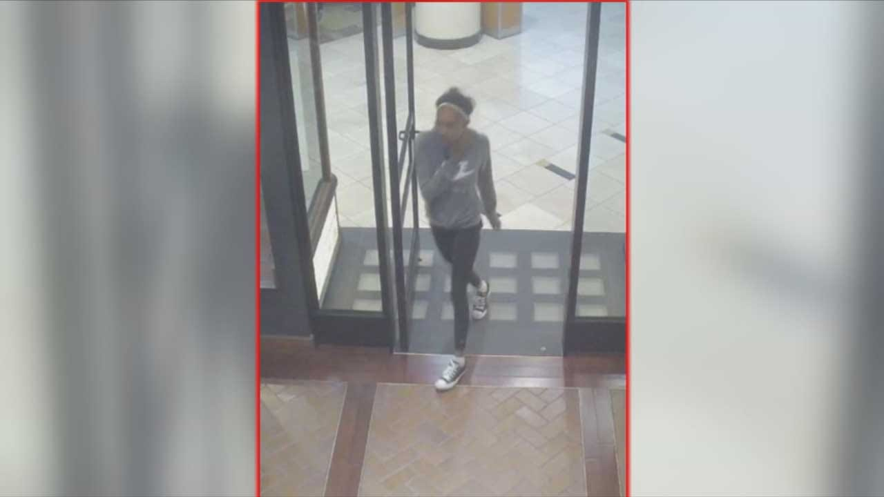 OKC Shoplifter Wanted After Stealing Bag, Assaulting Store Employee