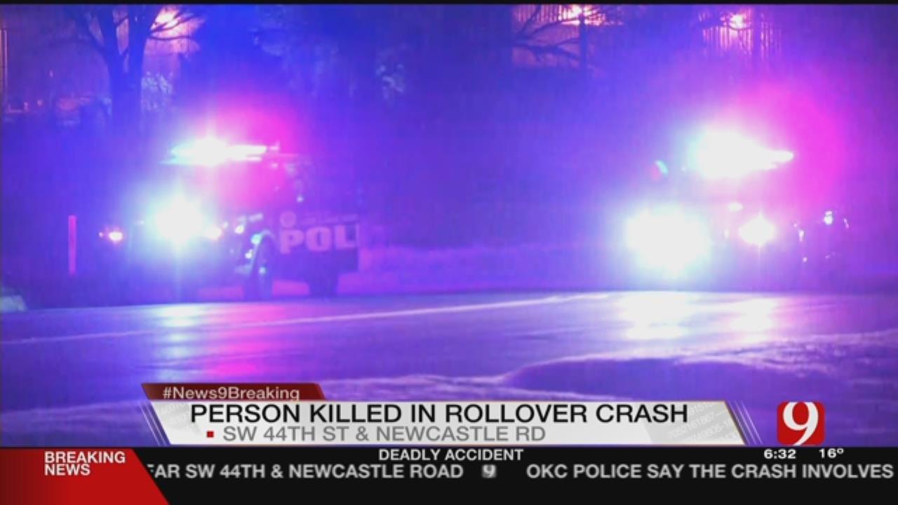 Police Investigate Deadly Crash In SW OKC