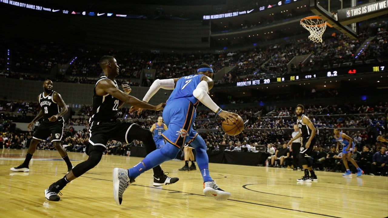 Thunder Falters In Mexico City, Loses 100-95 To Nets