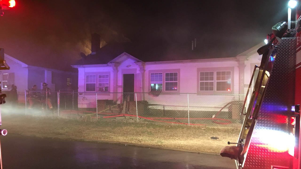 Crews Douse Early Morning Fire in NE OKC