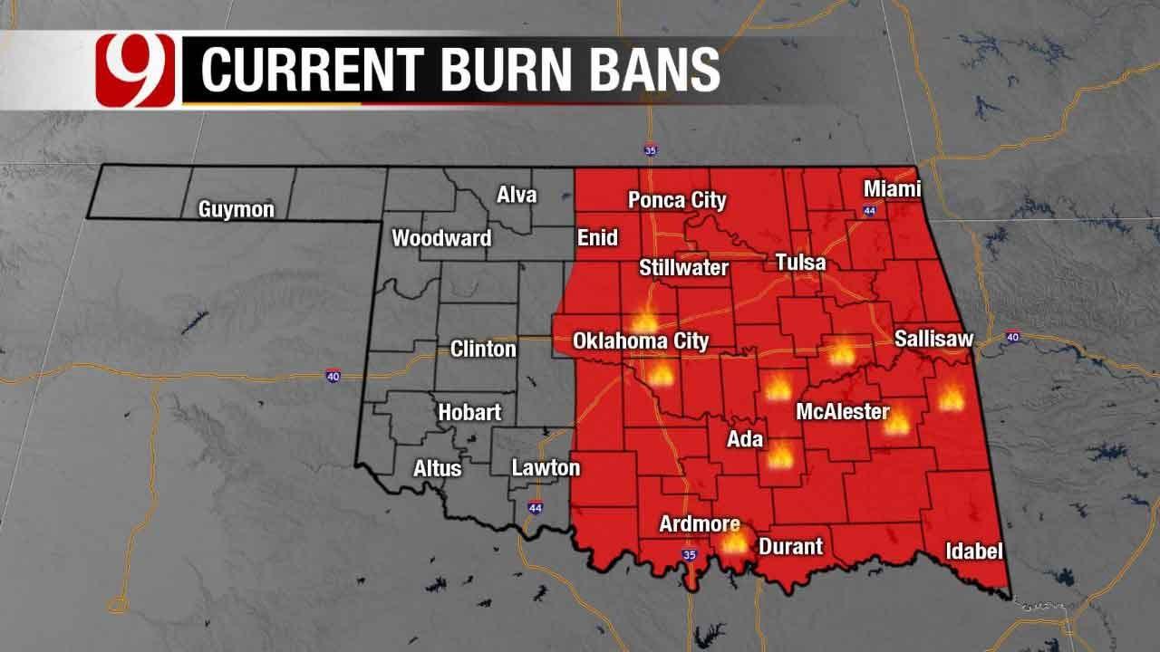 Fallin Issues Burn Ban For 53 Oklahoma Counties