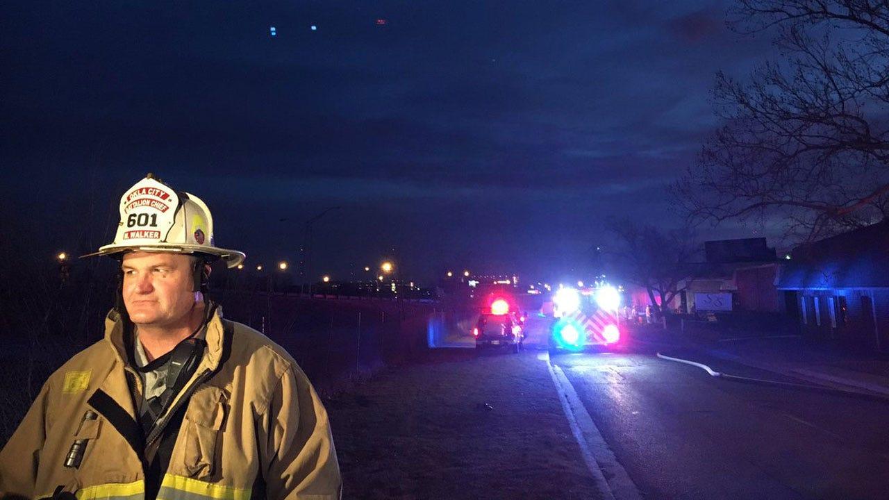 Firefighters Battle Commercial Fire in NW OKC