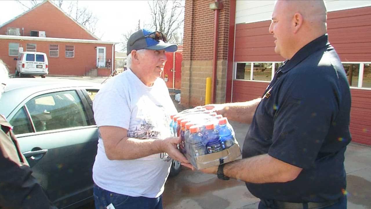 Guthrie Fire Department In Need Of Bottled Water