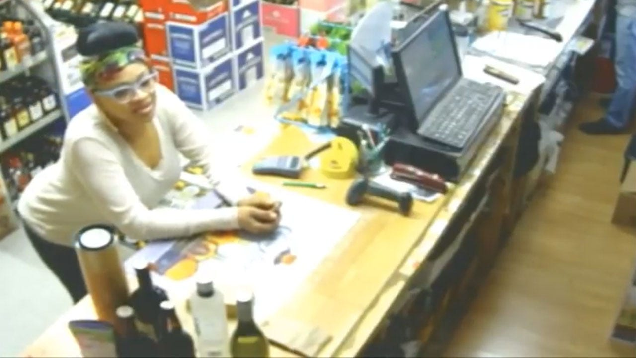 OKC Police Seek Wallet Thief