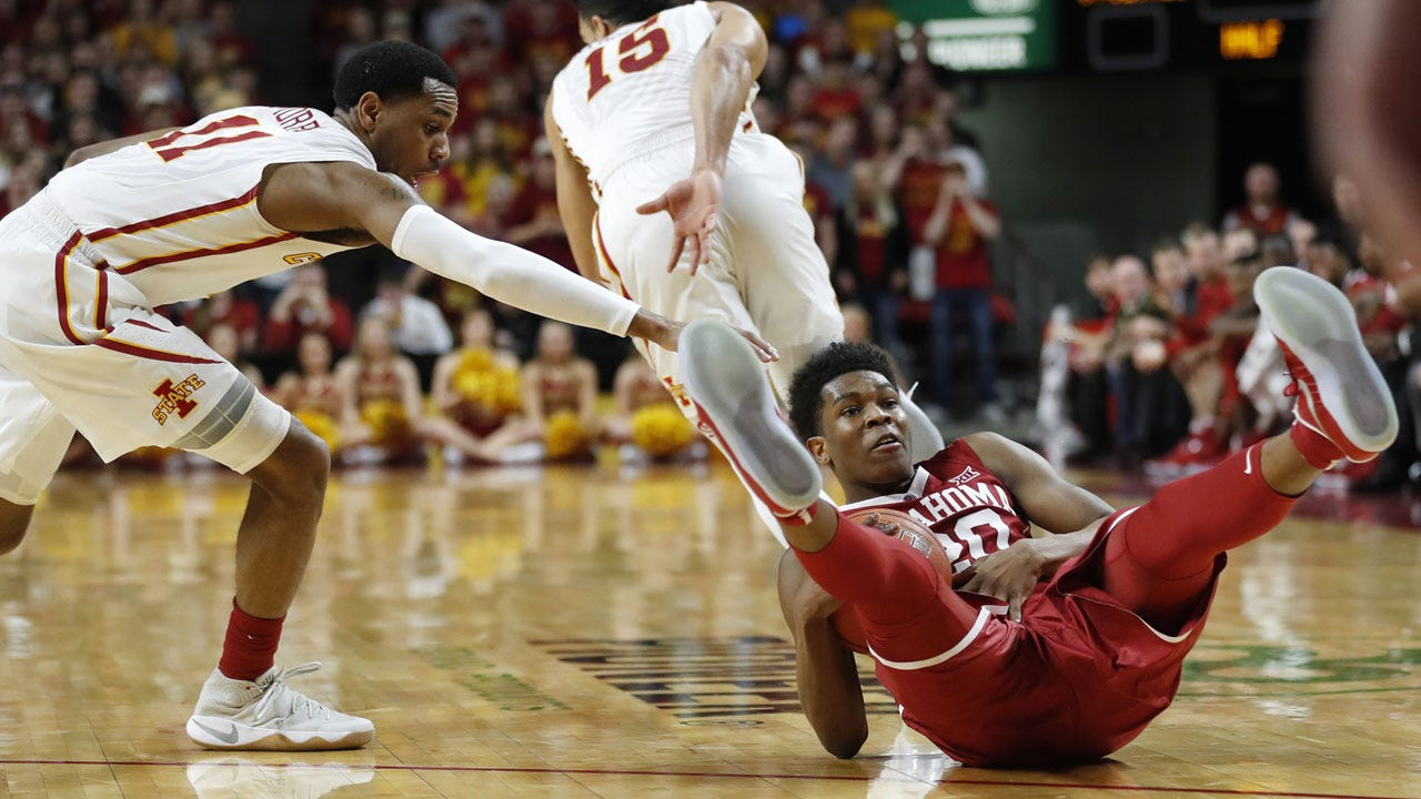 OU Hoops: Sooners Drop Seventh Straight With Loss To Iowa State