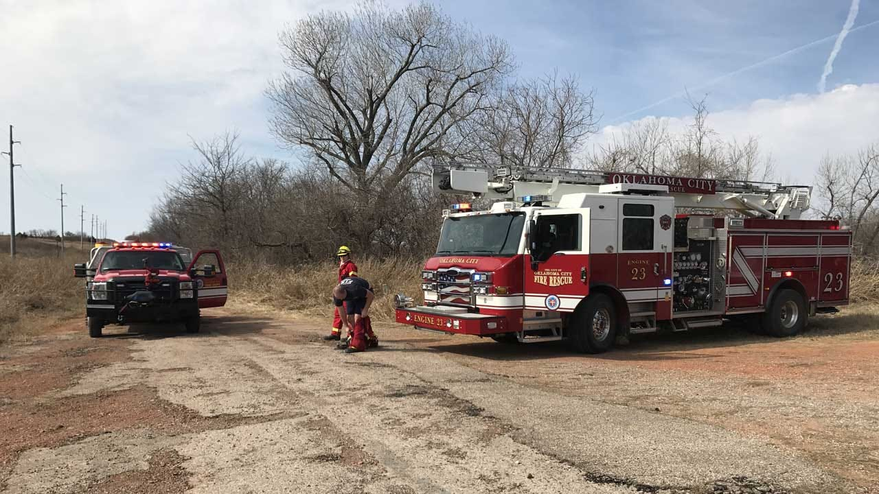 Officials: Wildfire Burns More Than 870 Acres In SE OKC