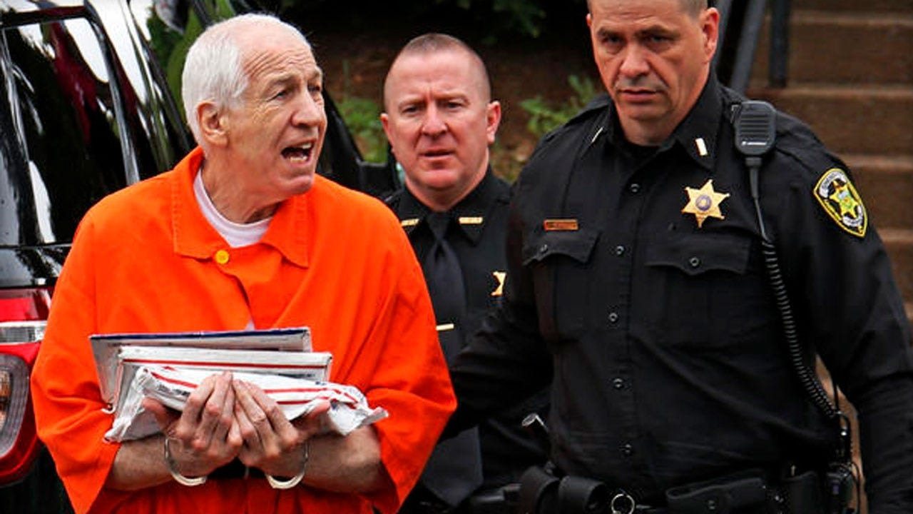 Former Penn State Asst. Coach Jerry Sandusky's Son, 41, Accused Of Child Sex Assault