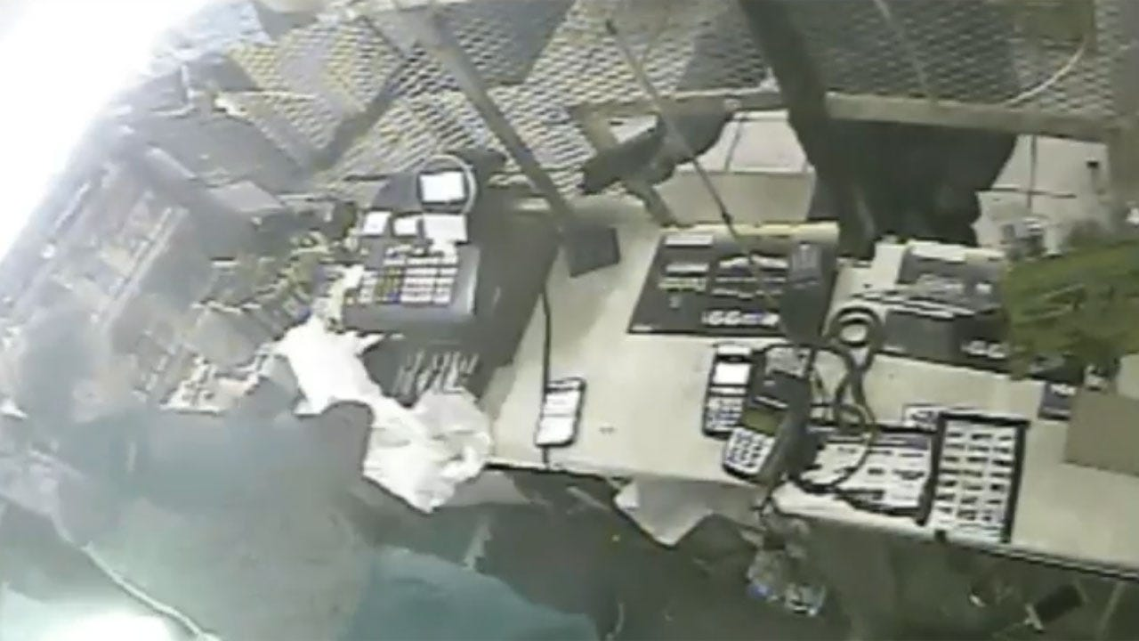 OKC Police: Armed Robbery Suspect Sought