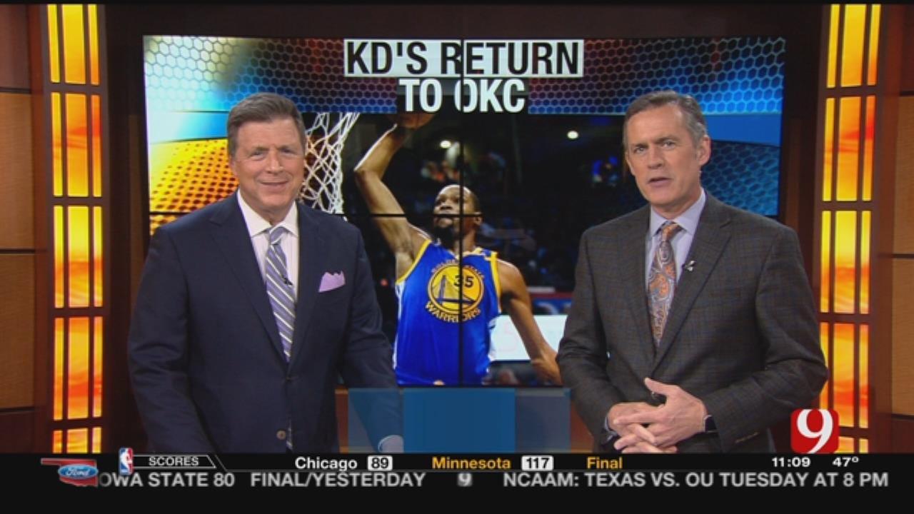 Oklahoma Ford Sports Blitz: February 12, 2017