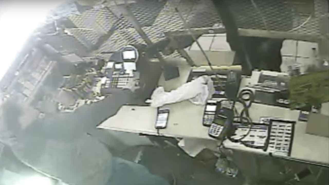 Police Search For Suspect Who Robbed NE OKC Convenience Store