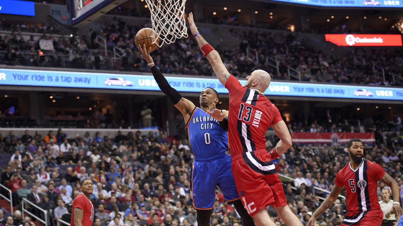 Thunder Look Flat In Blowout Loss To Wizards