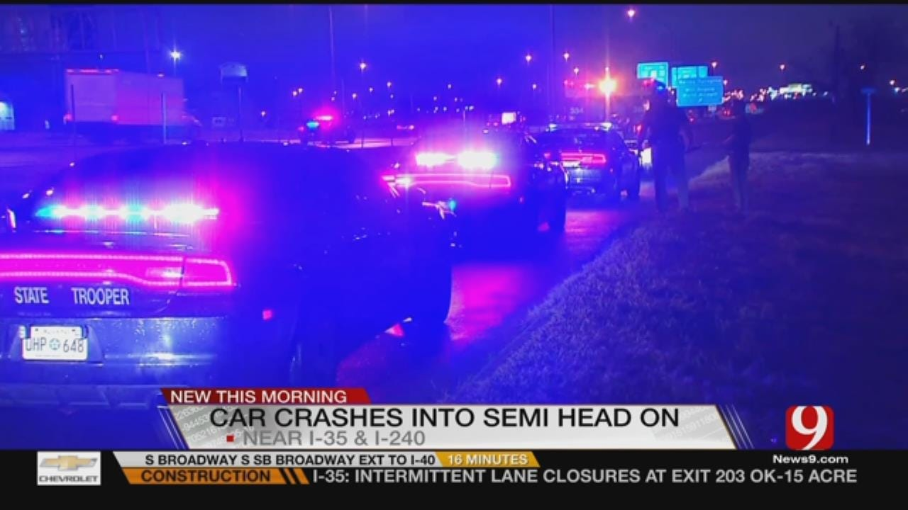 Head On Crash In South OKC Leaves One Hospitalized
