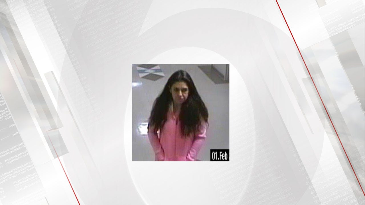 OKC Police: Woman Stole From Sleeping Victim In Hospital Waiting Room