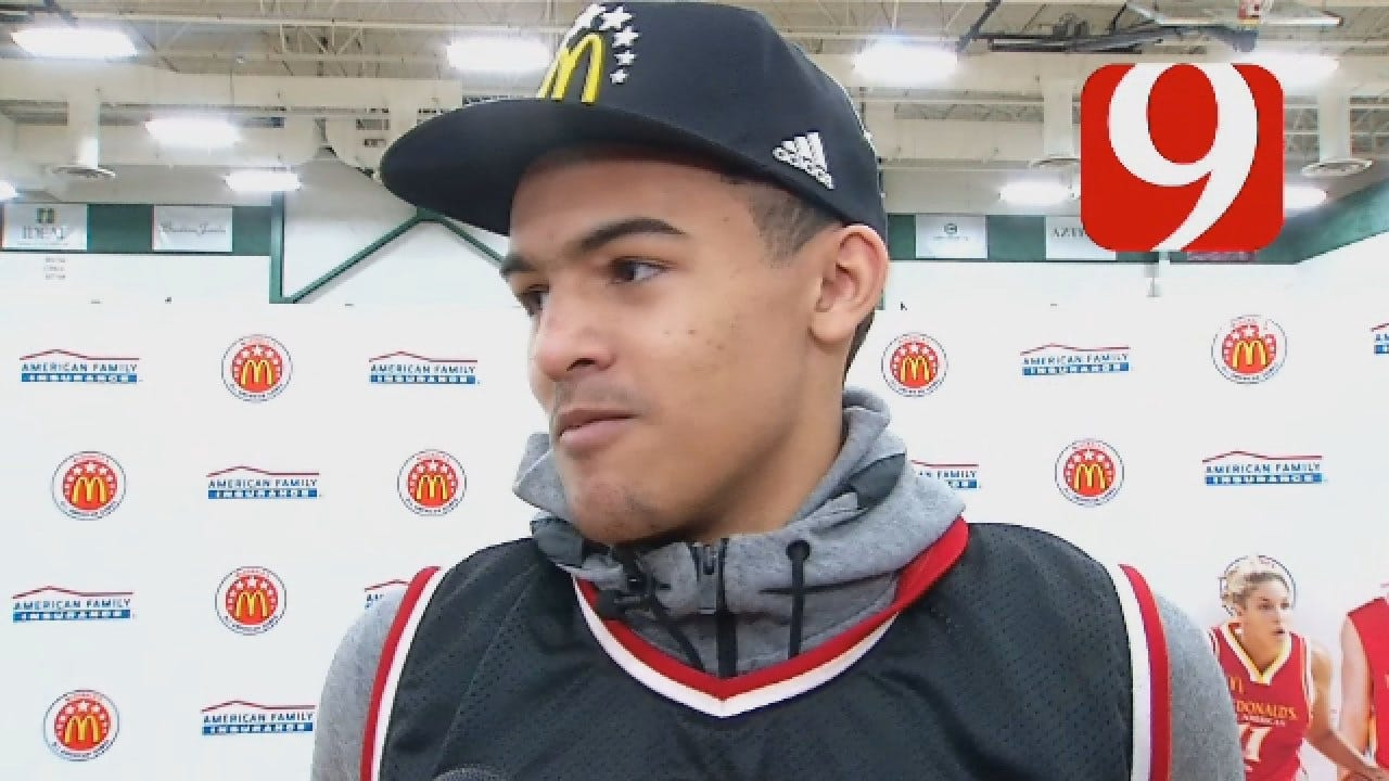 Norman North's Trae Young Picks OU Over KU & OSU