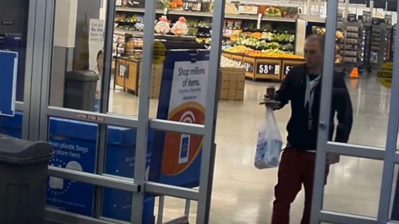 OKC Police: Burglar Broke Into Restricted Area In Local Walmart