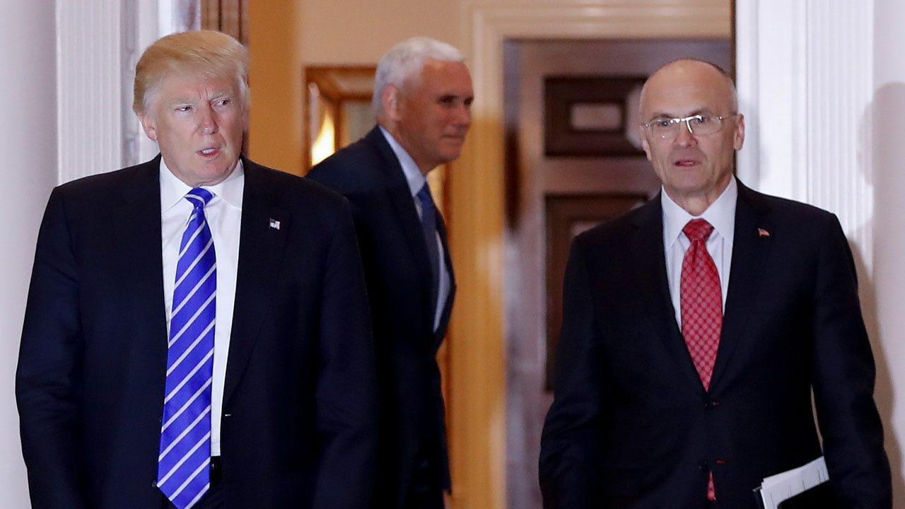 Trump Labor Secretary Nominee Withdraws
