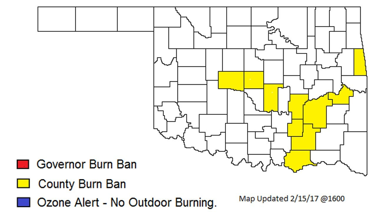 Statewide Burn Ban Over But Still In Place In Certain Parts Of State