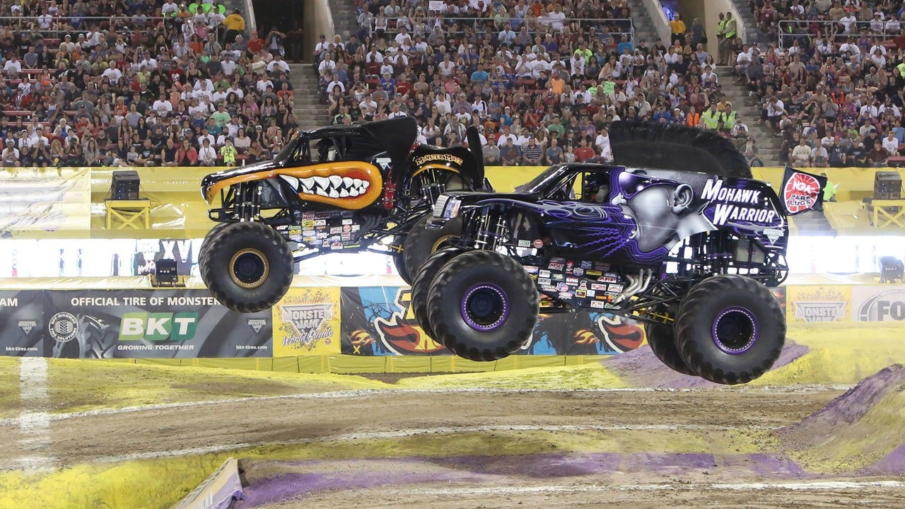 Monster Jam Sets Up Shop At The Peake This Weekend