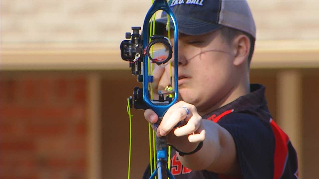 Red Dirt Diaries: Guthrie Teen Takes Dead Aim