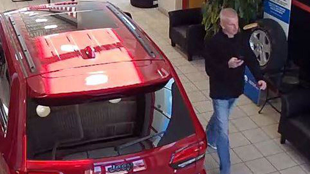 OKC Police: Man Stole Vehicle From Car Dealership Lot