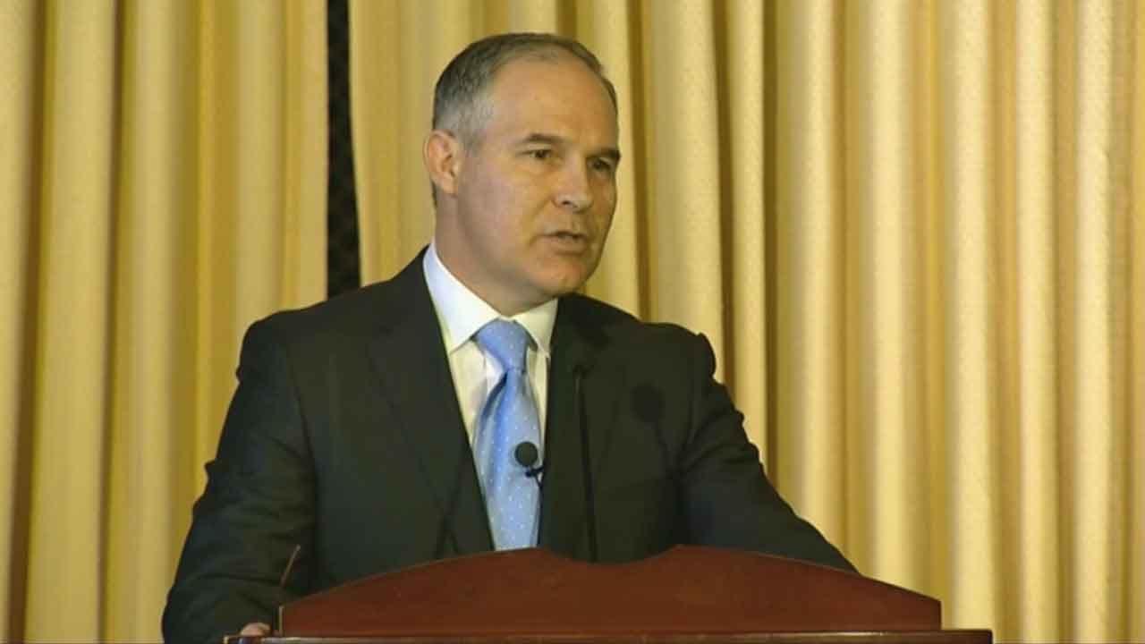 Scott Pruitt Addresses EPA Employees As New Administrator