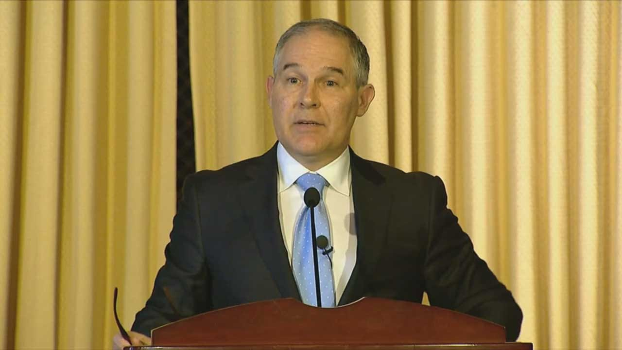 EPA Scott Pruitt's Emails Reveal Close Ties To Energy Sector