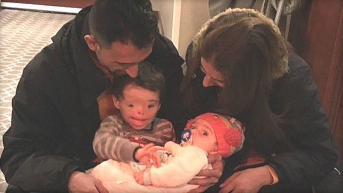 Iraqi Boy Reunited With Family Following U.S. Travel Ban