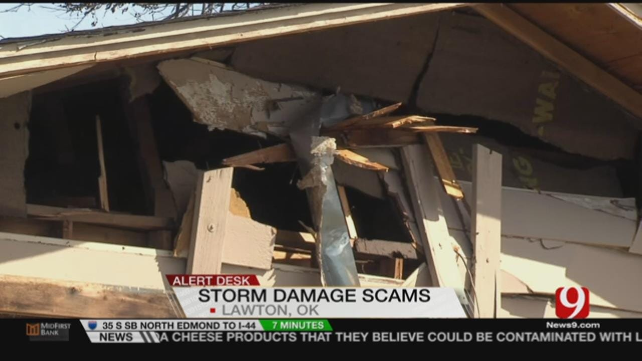 SW OKC Storm Damage Victims Fighting Off Scamming Contractors