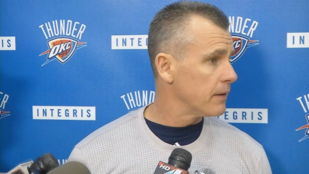 WATCH: Donovan Says Kanter Has Been Cleared To Practice