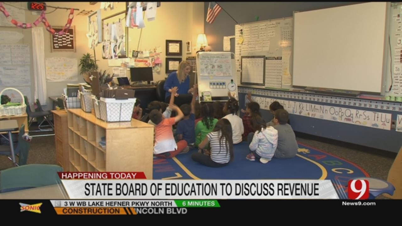 State School Board Meeting Today In Midst Of Budget Crisis