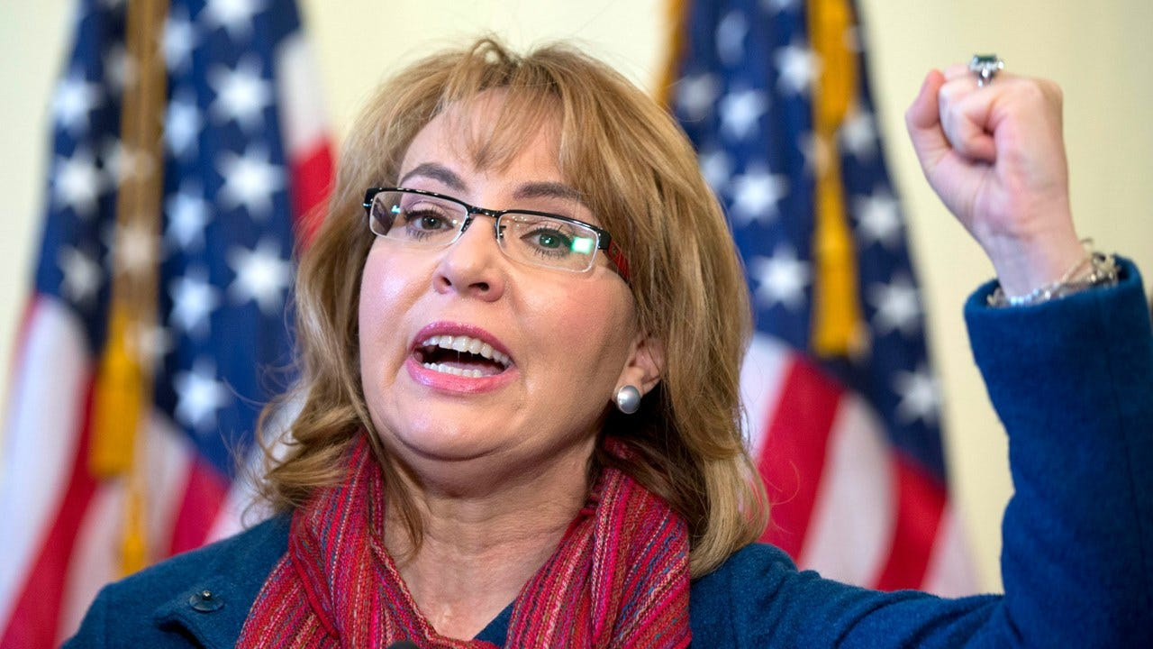 """""""Have Some Courage,"""" Gabby Giffords Says To Lawmakers About Town Halls"""