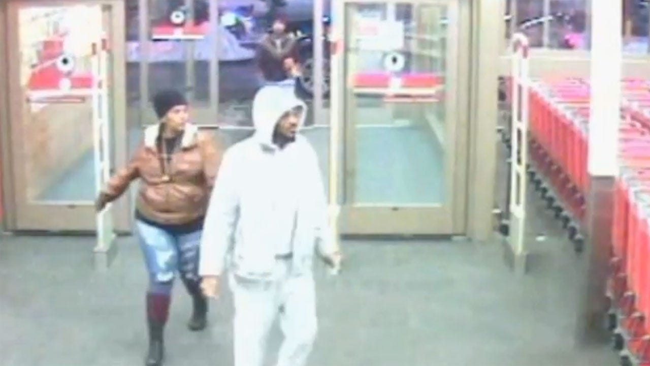 OKC Police: 3 Suspected Shoplifters Sought