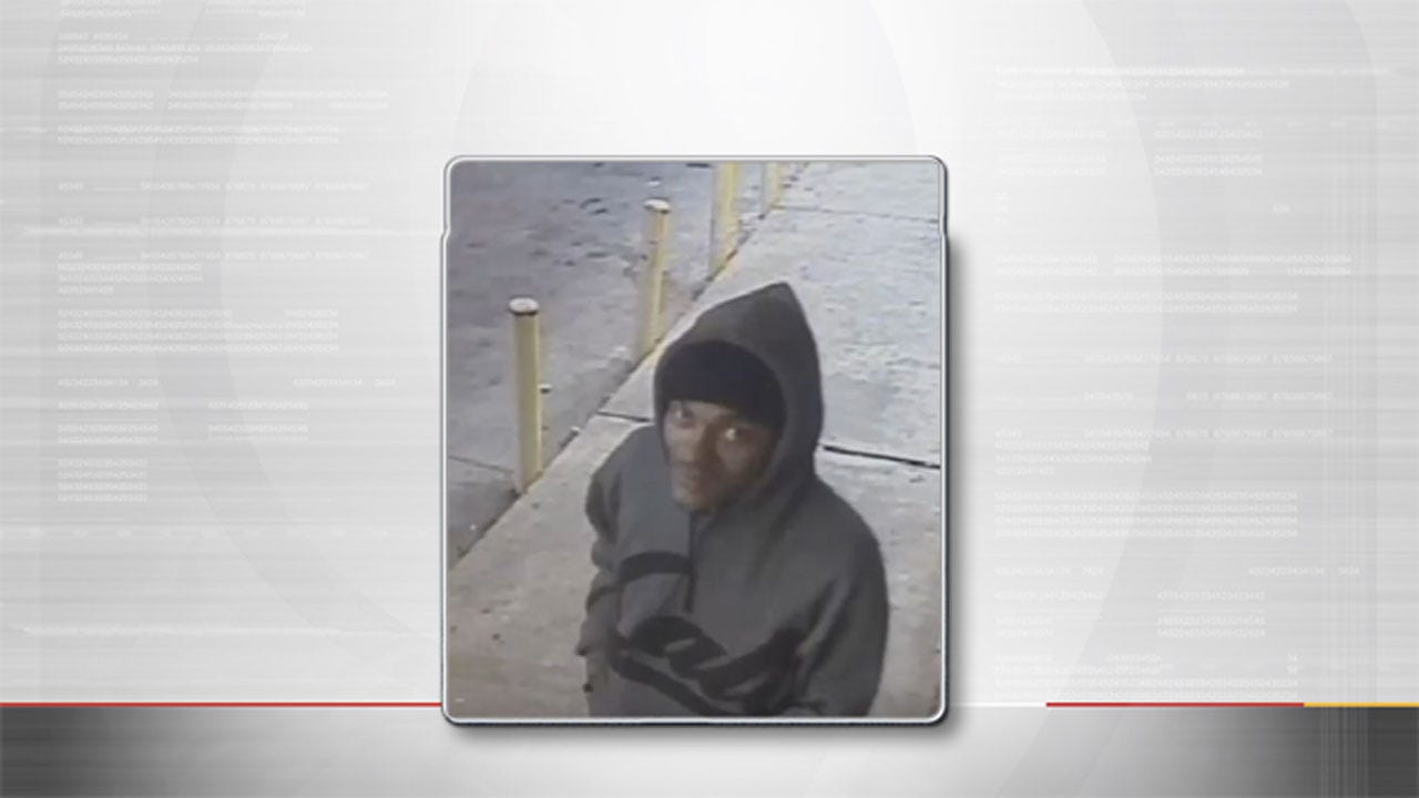OKC Police: Surveillance Video Captures Attempted Robber As He Flees Armed Clerk