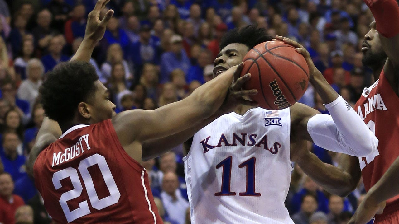 OU Hoops: Sooners Squander Second-Half Lead As No. 1 Kansas Rallies For Win
