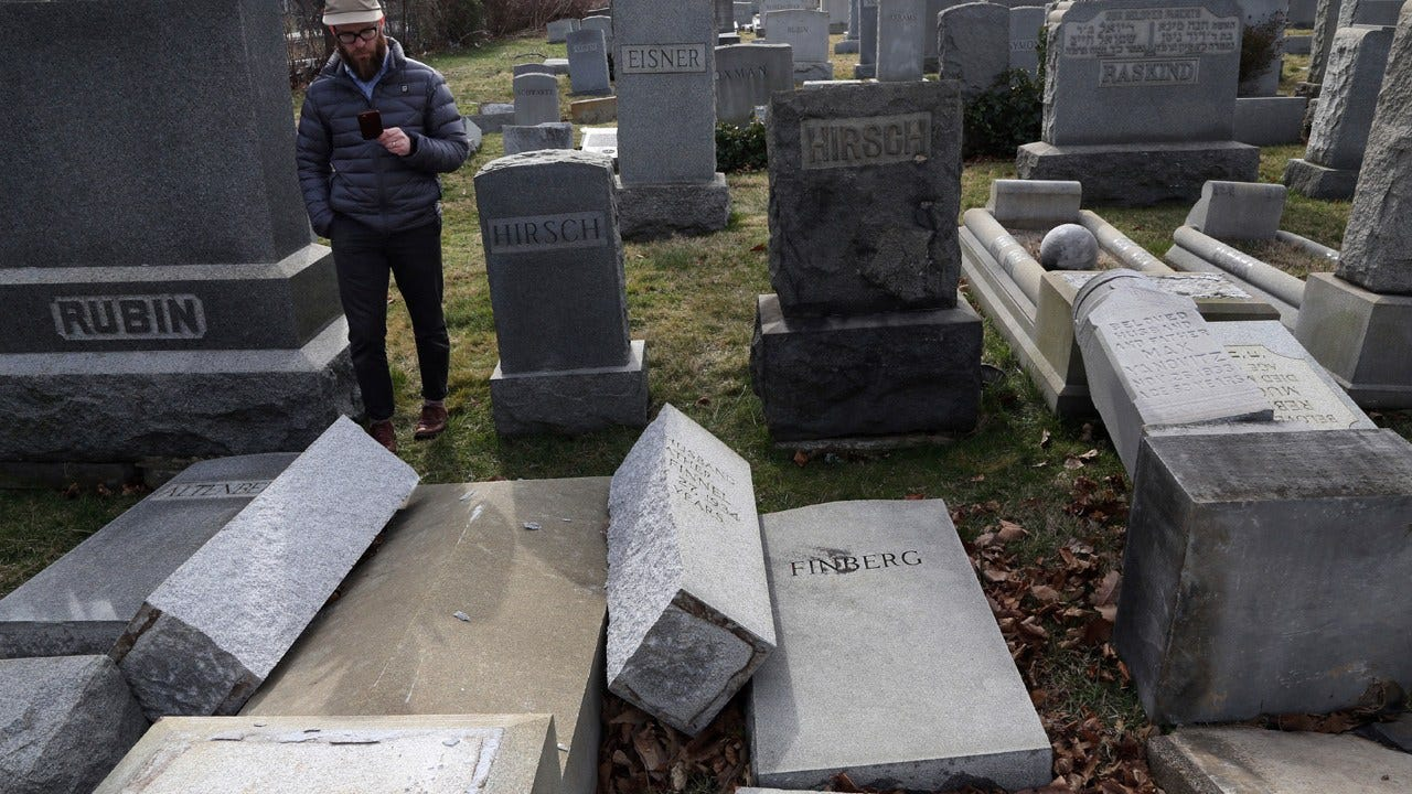 Jewish Centers Cope With Bomb Threats, Officials Plan Headstone Repairs