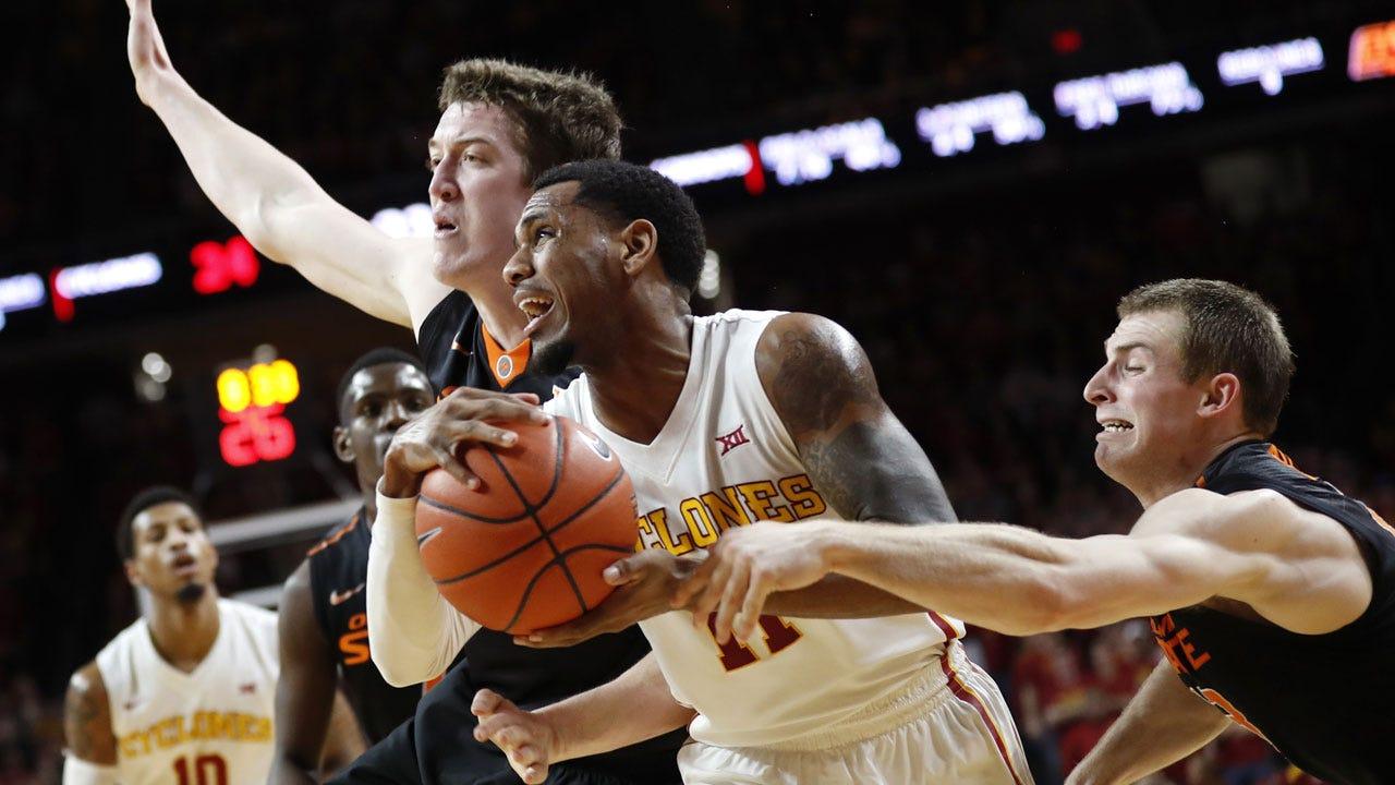 OSU Hoops: No. 24 Iowa State Holds Off Oklahoma State 86-83