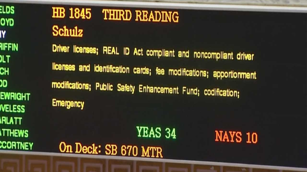 Real ID Legislation Passes, Goes To Governor's Desk