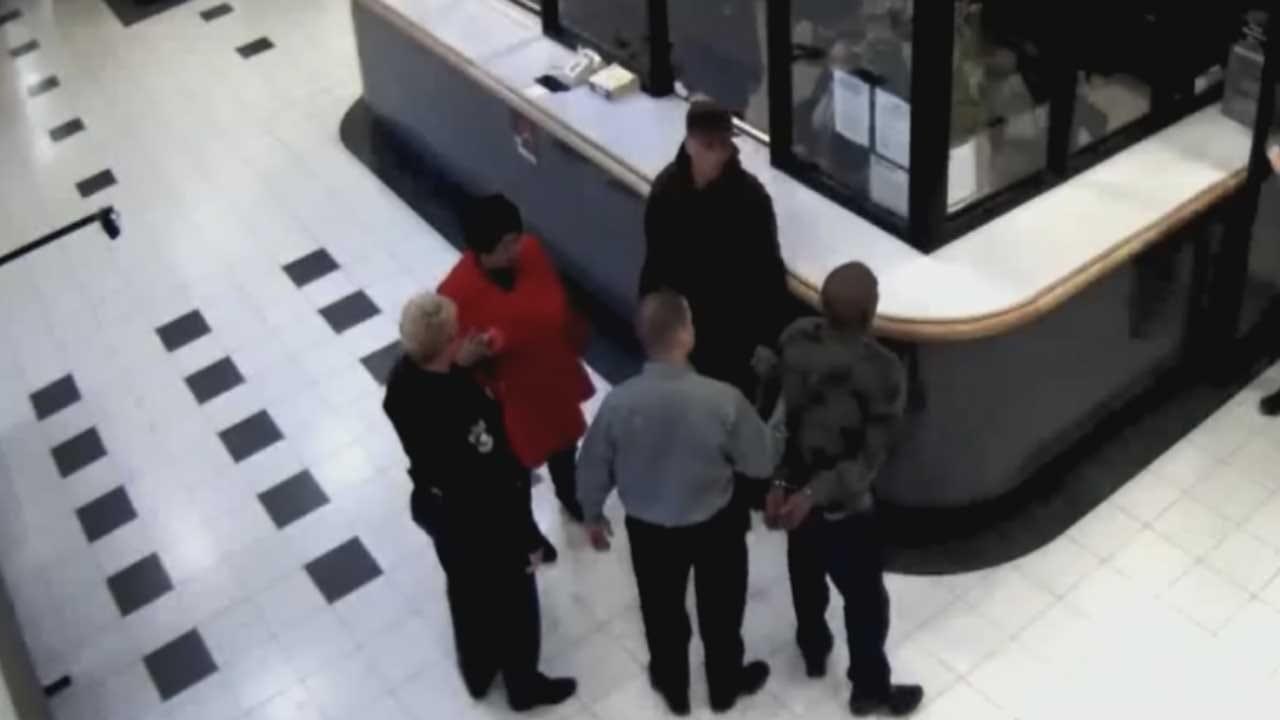 OK County Jail Video Shows MWC Triple-Murder Suspect Surrender