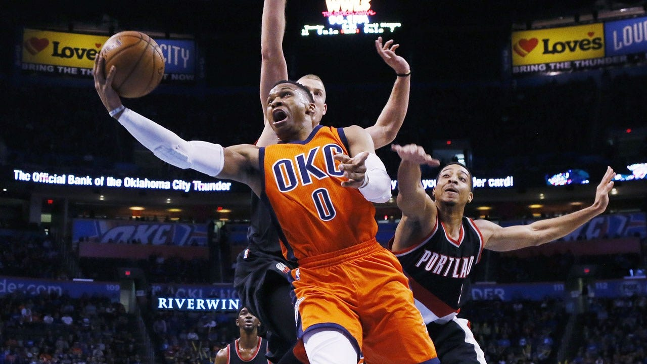 Thunder Knock Off Blazers To Win Second Straight Game