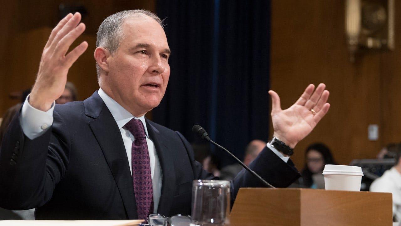 Former EPA Employees Write Letter To Senate Making Case Against Pruitt