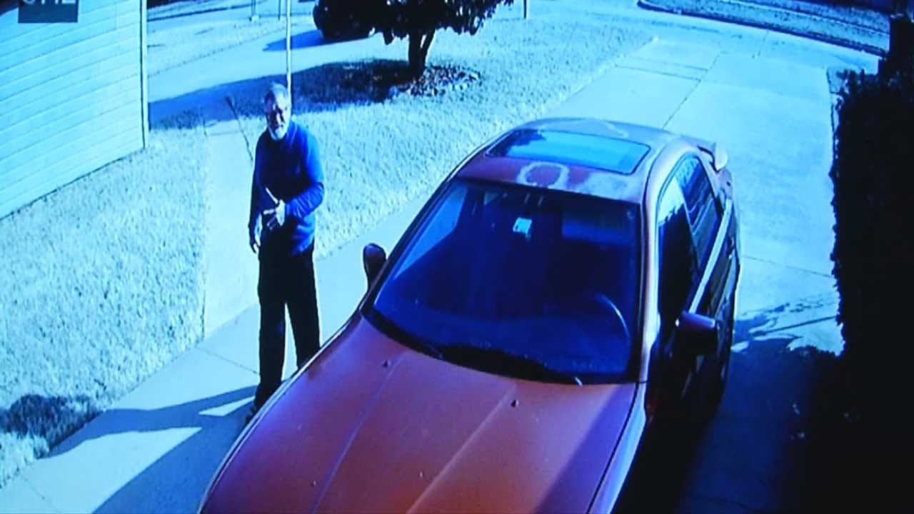 Guthrie PD Investigates Suspicious Activity On Home Security Camera