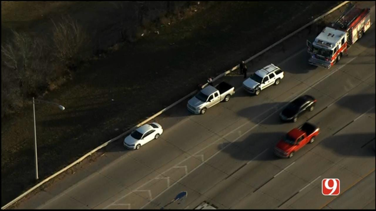 Injury Crash Reported Near EB I-44, NW 36th St.