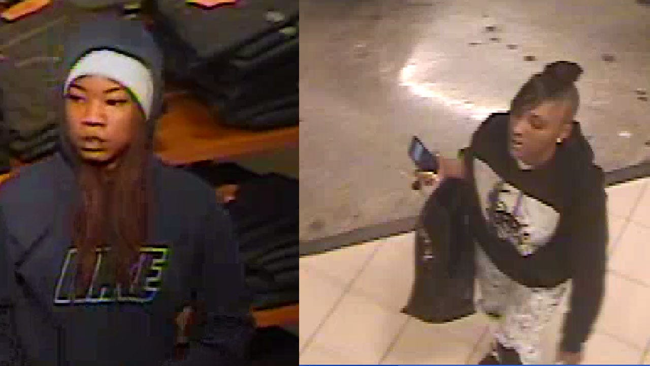 OKC Police: 2 Repeat Shoplifters Sought