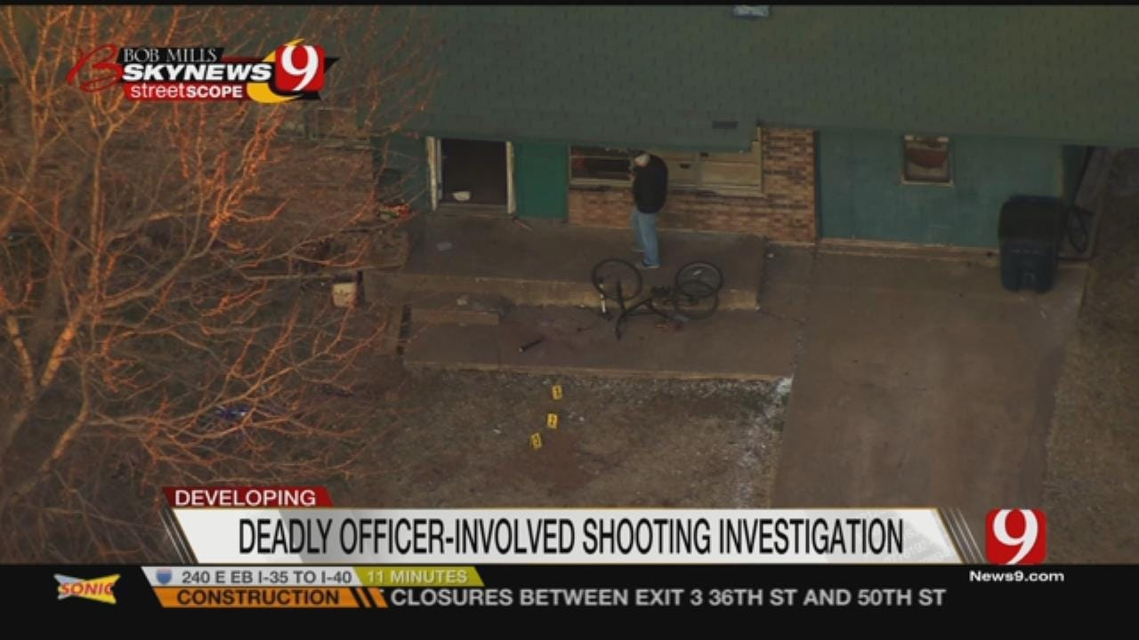 Suspect Identified In Deadly Anadarko Officer-Involved Shooting