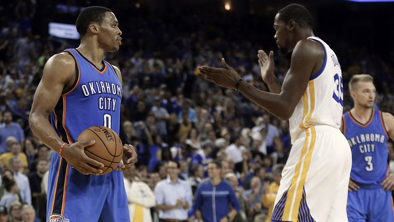 Thunder Set To Take On Kevin Durant & The Warriors