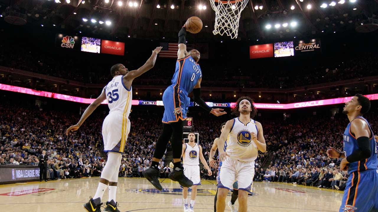 Westbrook To Teammates: Don't Say 'What's Up' To KD