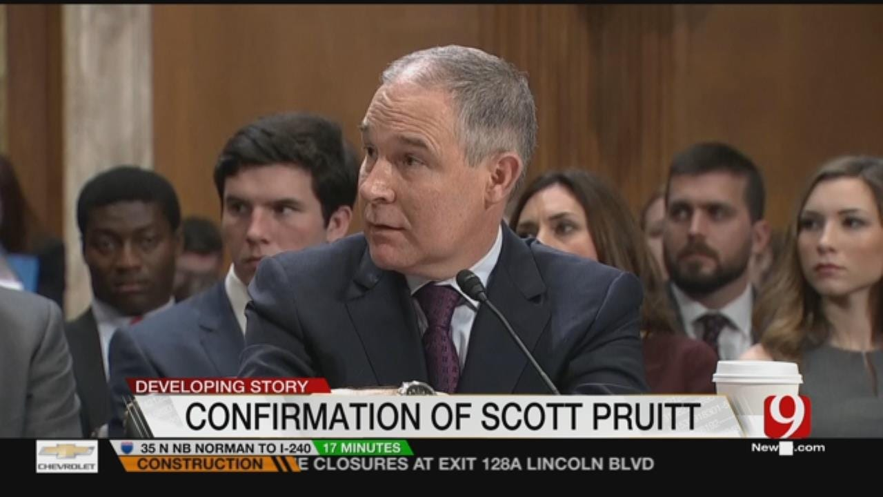 Pruitt Continues To Wait For Committee Vote On EPA Head Job